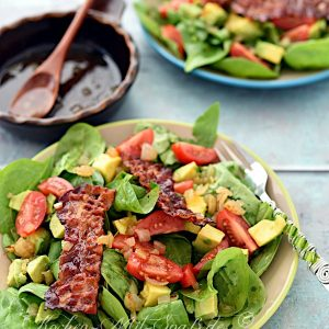 Avocado-Spinat-Salat