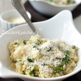 Spargel- Risotto